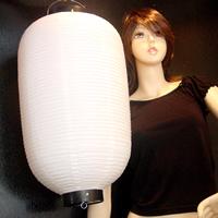 イベント用品・パーティグッズ/提灯・堤燈・ちょうちん/提灯[ちょうちん]ビニール無地縦長64cm