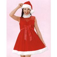 クリスマスグッズ・サンタグッズ/クリスマスコスチューム/サンタドレス