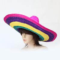 パーティ雑貨・イベントグッズ/変身グッズ・カツラ/カラーメキシカンハット